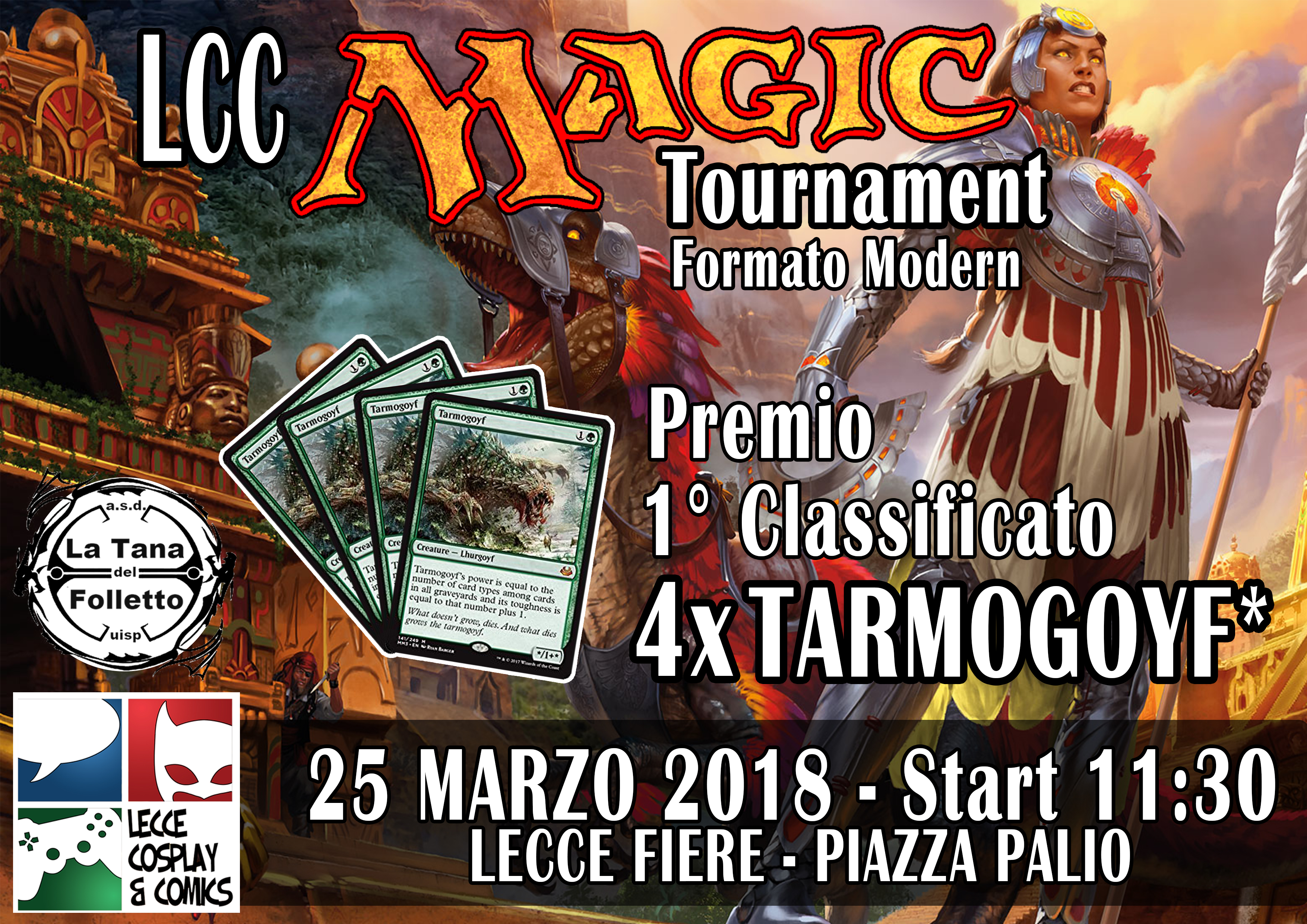 LCC MAGIC TOURNAMENT 2018