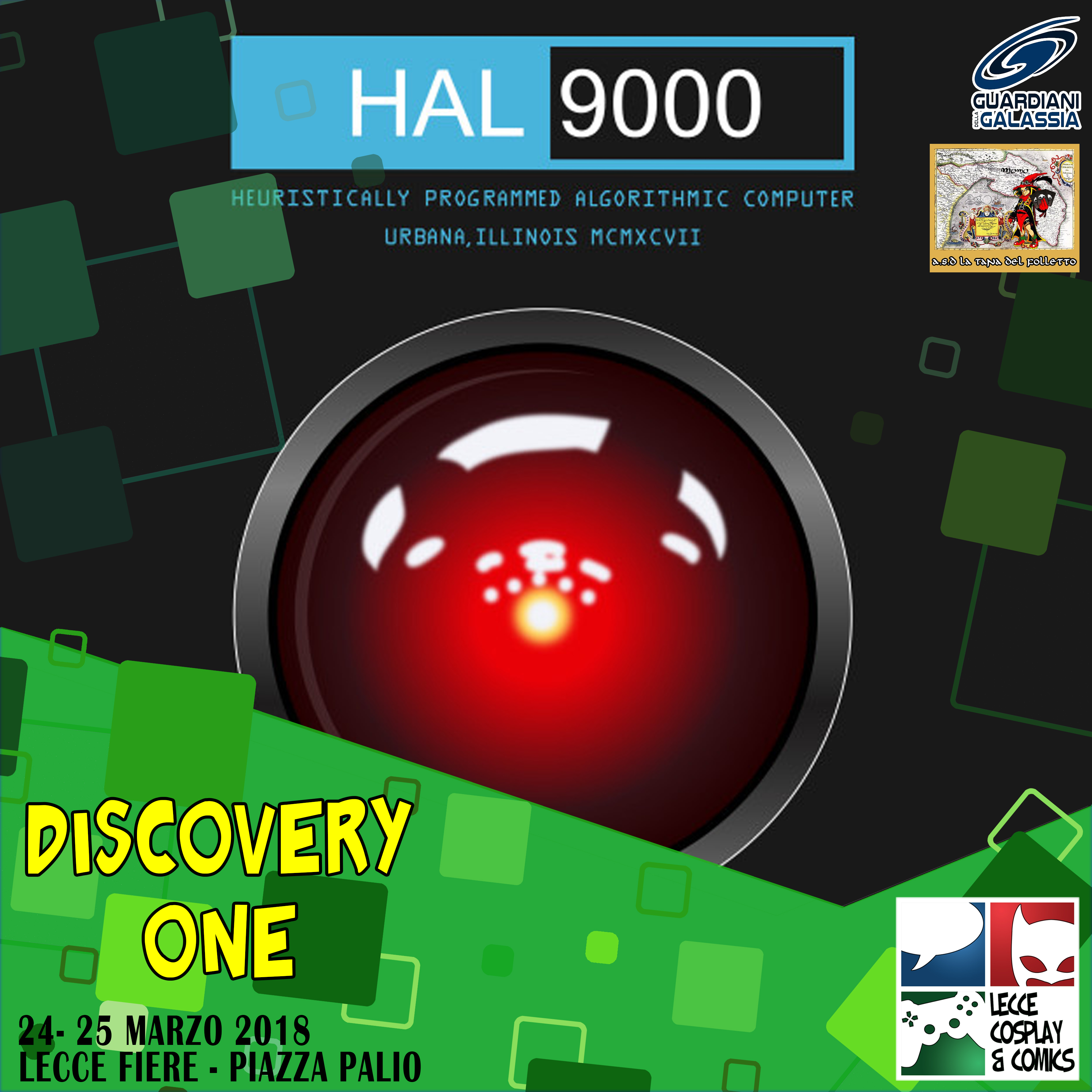 DIscovery One: Hall 9000