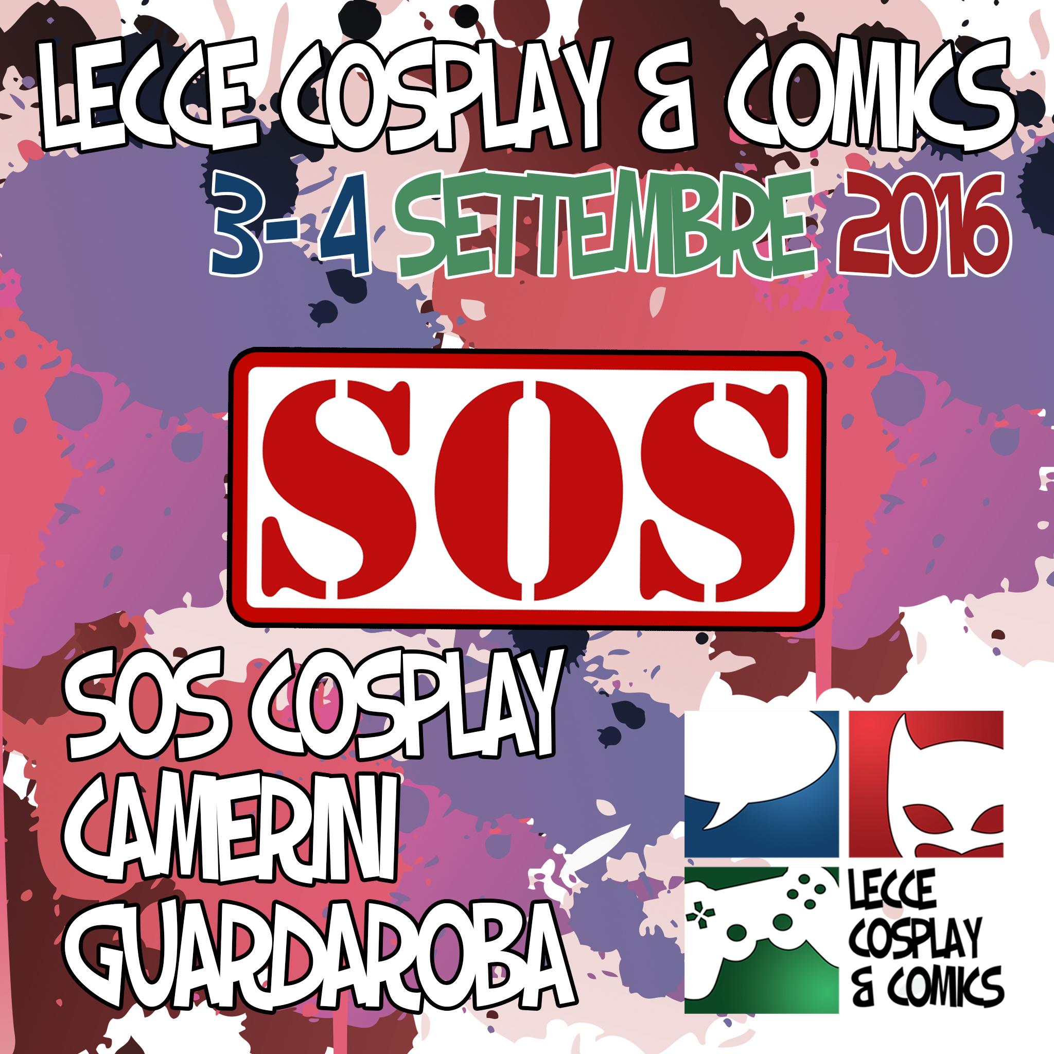 SOS Cosplay - Camerini -Guardaroba